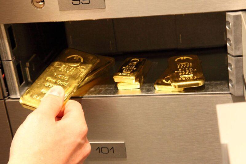Хранение драгоценных металлов