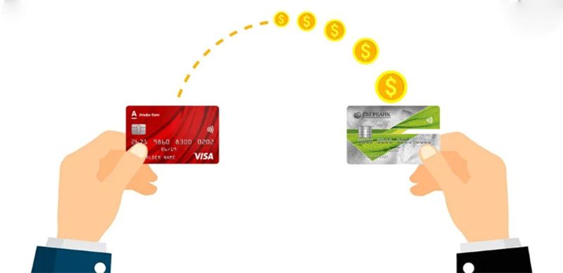 Перевод между банками