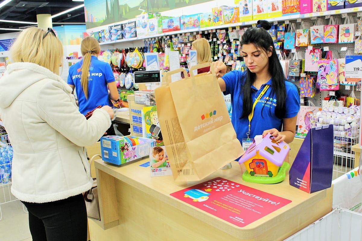 покупки на кассе с кэшбэком детский мир