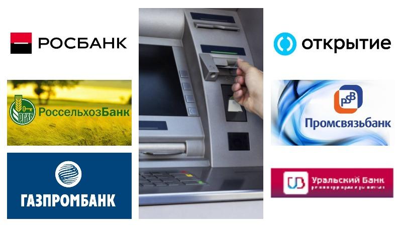 Банкоматы-партнеры
